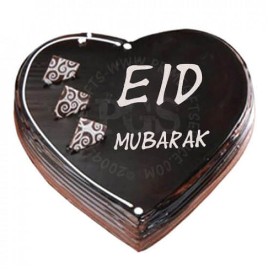 Heart Shape Eid Cake