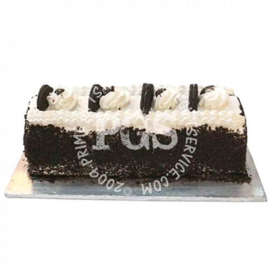 Hobnob Bakery Oreo Vanilla Log Cake - 2Lbs