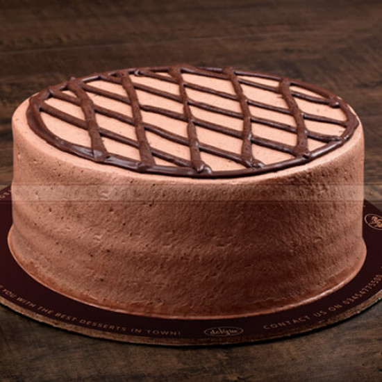 2.5lbs Chocolate Mousse Cake from Delizia
