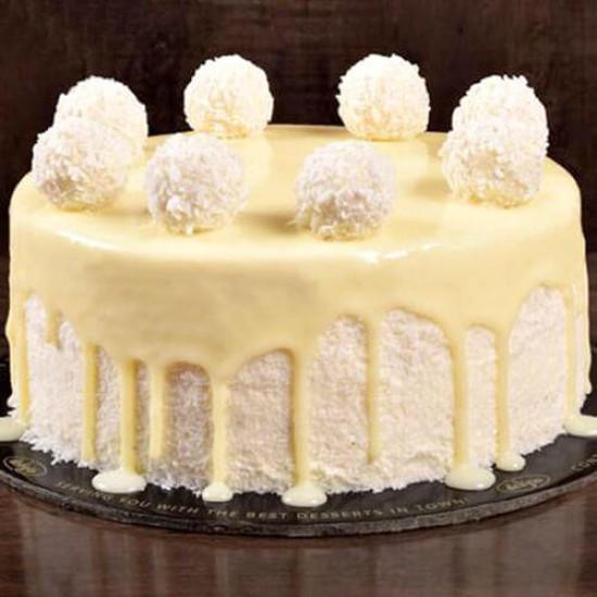 2.5lbs Raffaello Cake from Delizia