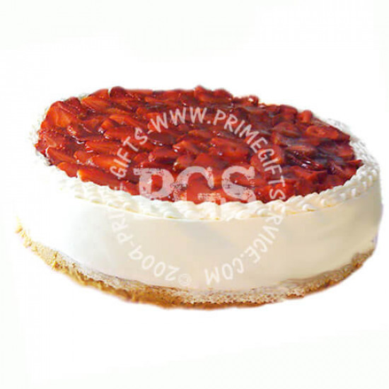 Kitchen Cuisine Strawberry Cheese Cake - 2Lbs