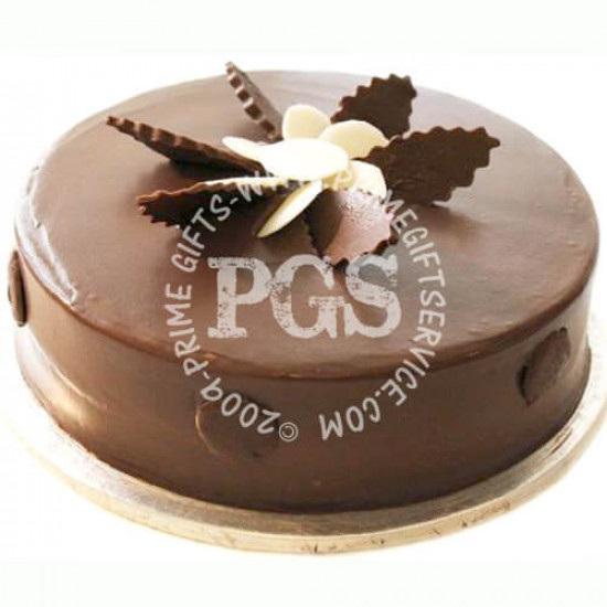 Kitchen Cuisine Chocolate Fudge Delight Cake - 2Lbs