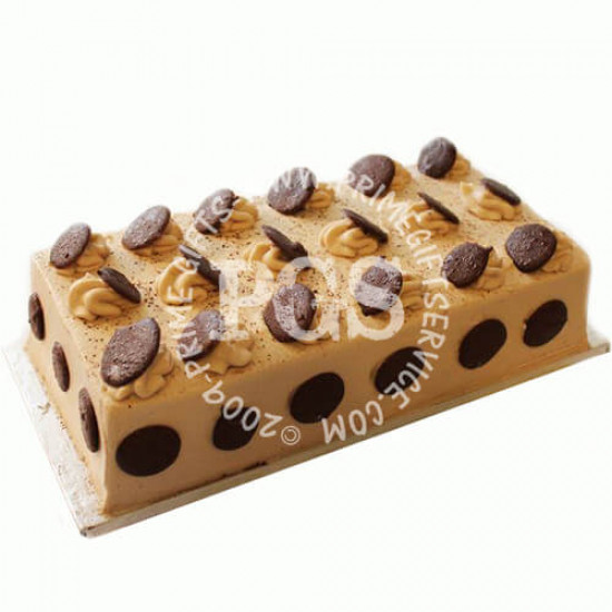 Kitchen Cuisine Chocolate Mocha log Cake - 2Lbs