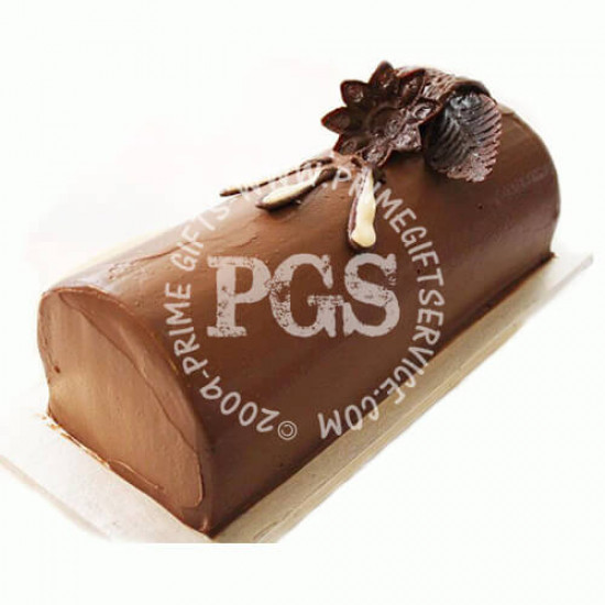 Kitchen Cuisine Chocolate Mousse Log Cake - 2Lbs