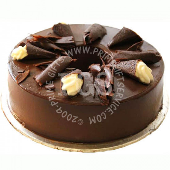 Kitchen Cuisine Dark Chocolate Cake - 2Lbs