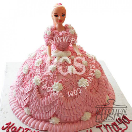 Kitchen Cuisine Doll Cake 4Lbs