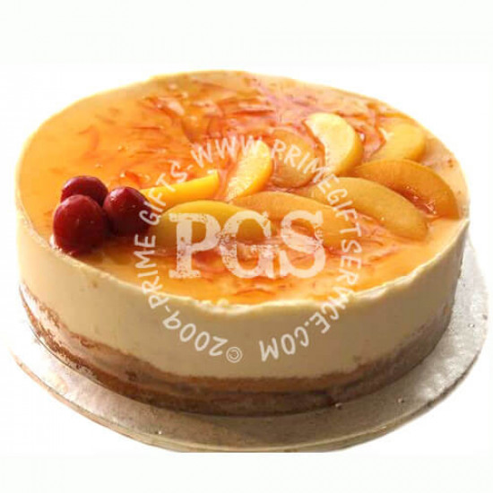 Kitchen Cuisine Peach Orange Moussee Cake - 2Lbs