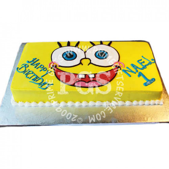 Kitchen Cuisine Sponge Bob Cake 4Lbs