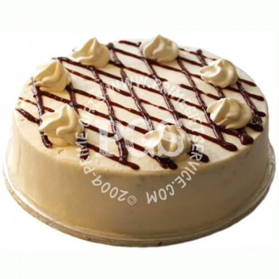Kitchen Cuisine Strawberry Sponge Cream Cake - 2Lbs