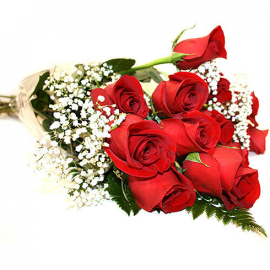 Love Red Flowers Bouquet