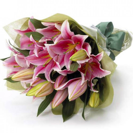 Perfect Pink Flowers Bouquet