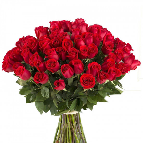 60 Red Roses Bouquet