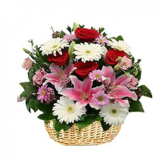 Glorious Flower Basket