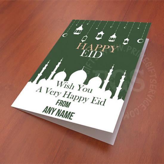 Happy Eid Greetings Card