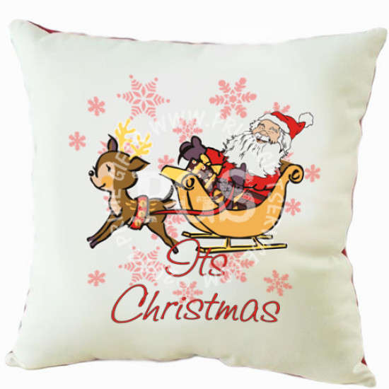 Its Christmas Cushion