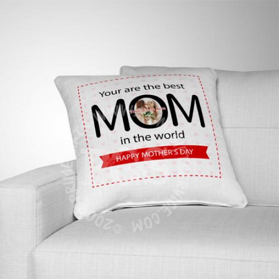 Best Mom Ever Image Cushion
