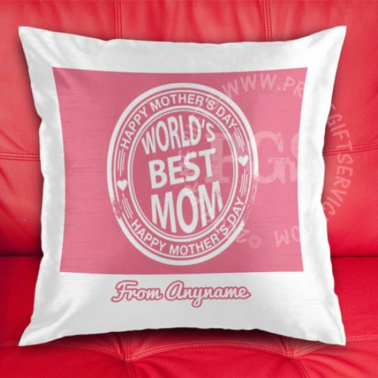 Best Mom Stamp Cushion