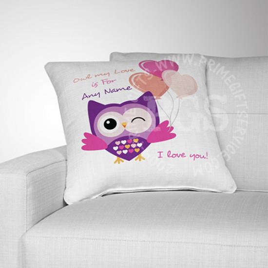 Love Owl Cushion