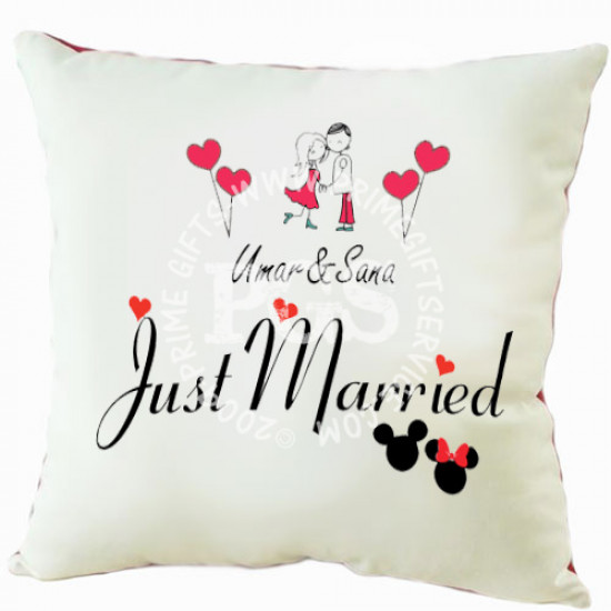 Cushion for Just Married Couple