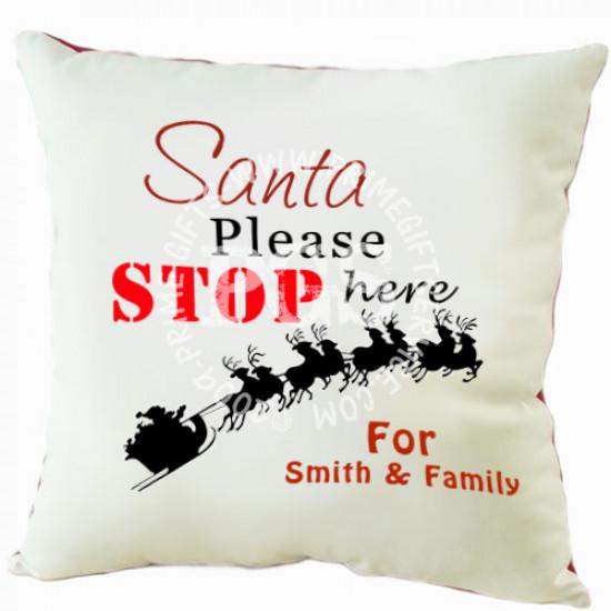 Santa Christmas Cushion