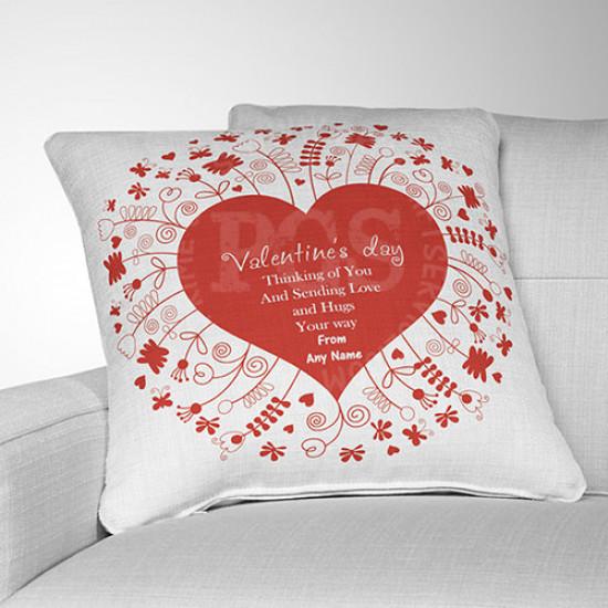 Thinking of You Valentine Cushion