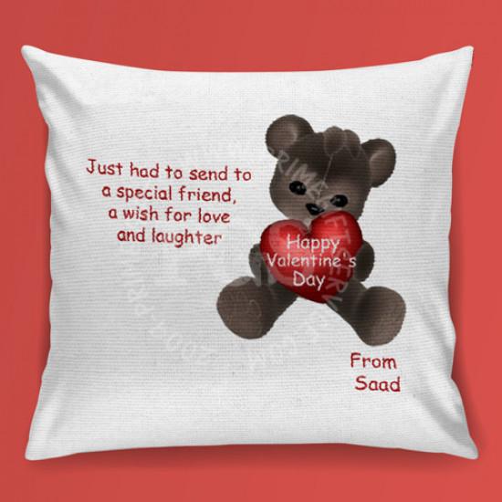 Valentine Teddy Cushion