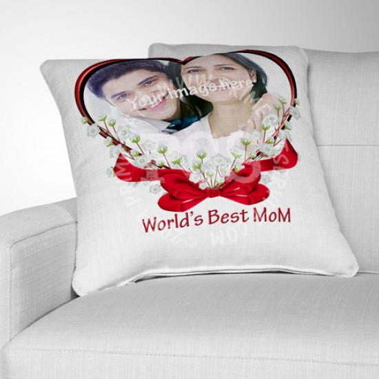 Worlds Best Mom Cushion