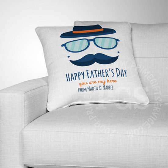 You are my Hero Dad Cushion