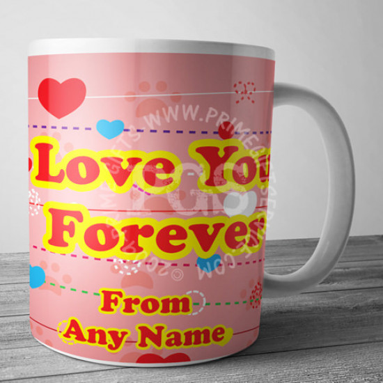 Love You Forever Personalised Mug