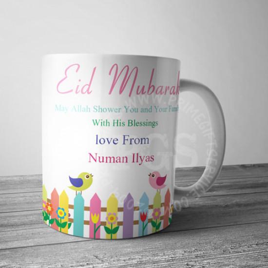 Love Birds Eid Personalised Mug
