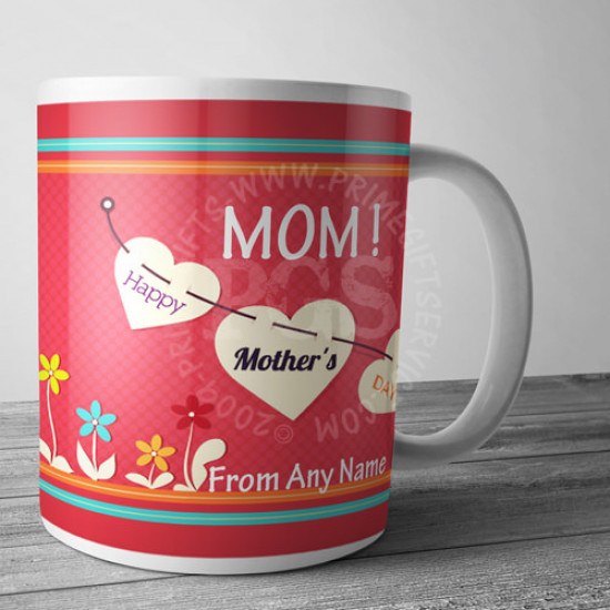 Happy Mothers Day Pink Mug