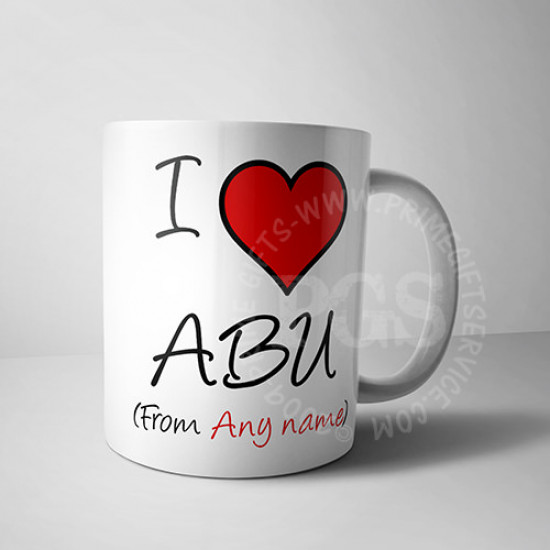 I Love Abu Mug