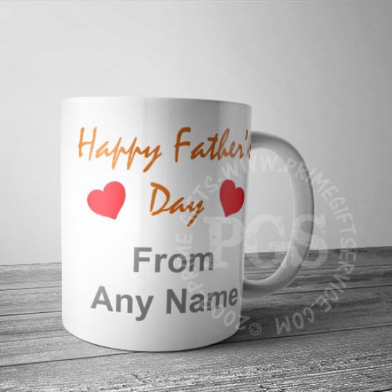 No. 1 Daddy Personlised Mug