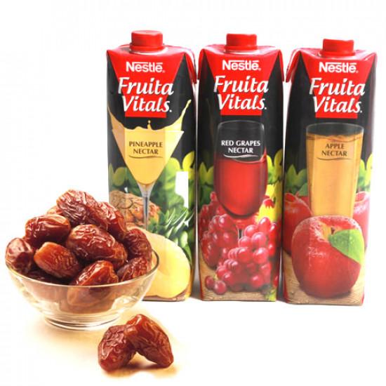 6 Litre Nestle Juice with Ajwa Dates