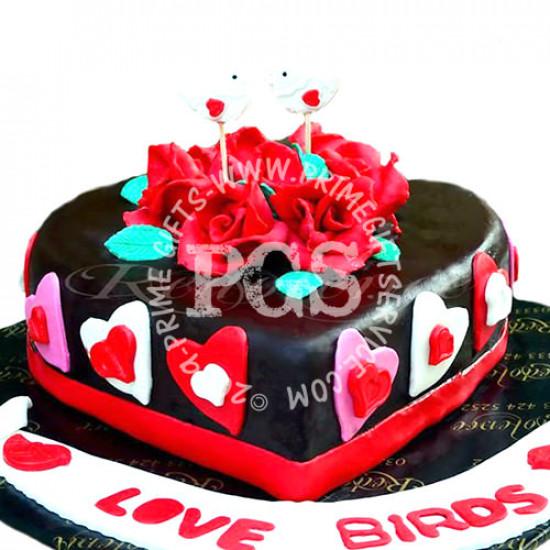Redolence Love birds Cake 2Lbs