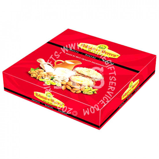 4Kg Mix Mithai from Rehmat-e-Shireen Sweets
