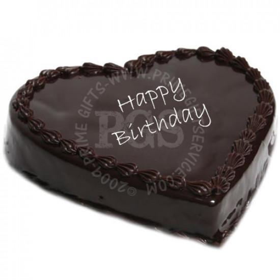 Treat Bakers Heart Shape Cake 2Lbs