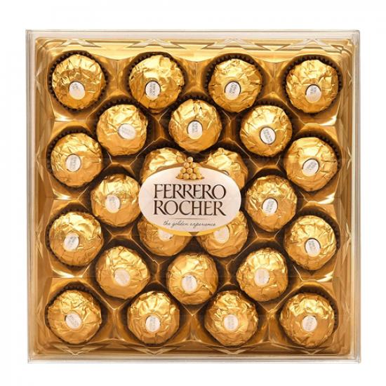 24 Pieces Ferrero Rochers Chocolates