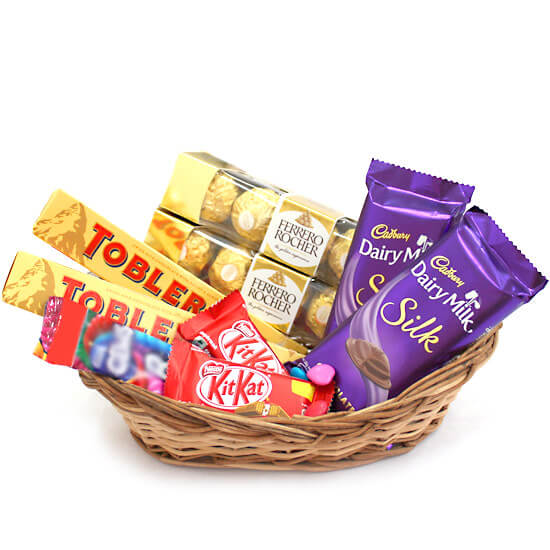 Small Chocolate Delight Basket