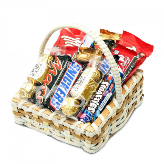 Sweet Chocolate Basket