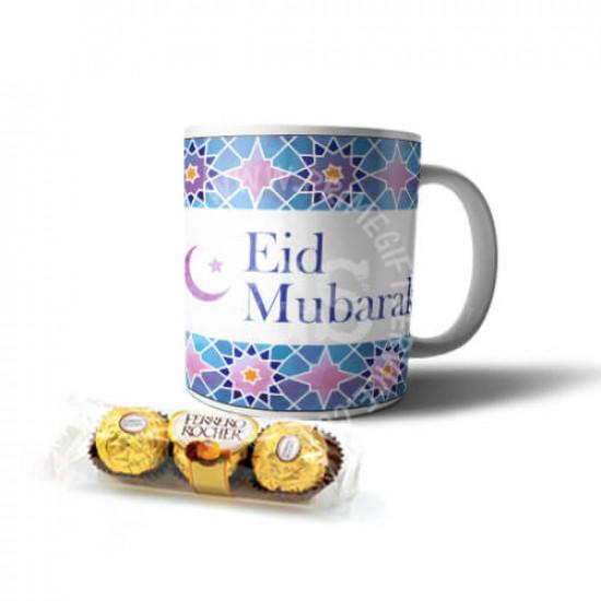 Eid Mug with Ferrero Rocher Chocolates