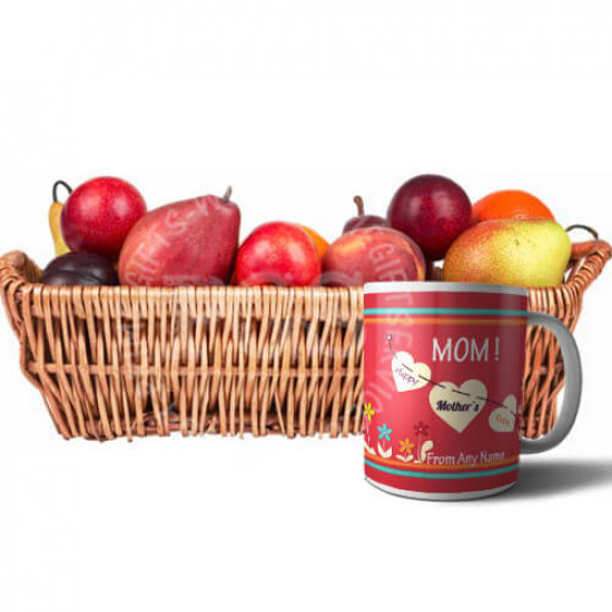 5Kg Fruits with Mothers Day Mug