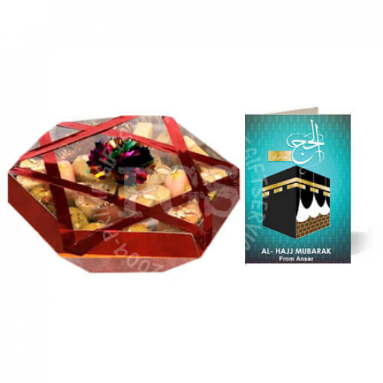 5Kg Sweets and Hajj Card