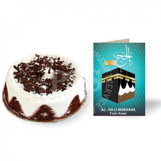 2lbs Cake and Hajj Card
