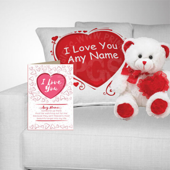 I Love You - Personalised Gift Hamper