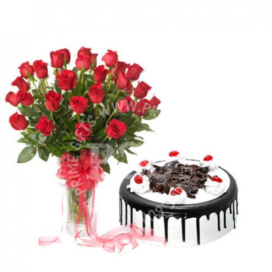 2Lbs Avari Hotel Cake and Roses