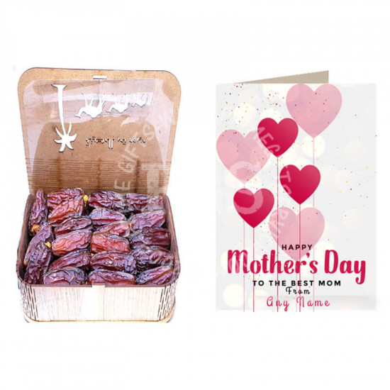Mothers Day Deal of Card with Mabroom Dates