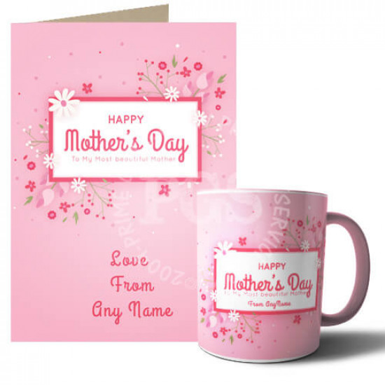 Customized Mothers Day Deal for Beautiful Mother