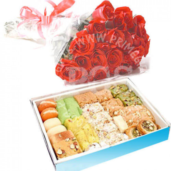 Sugar Free Sweets and Red Roses