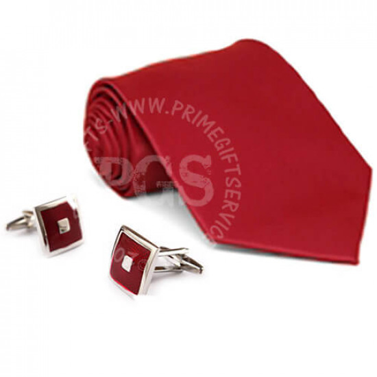 Tie with Cufflinks
